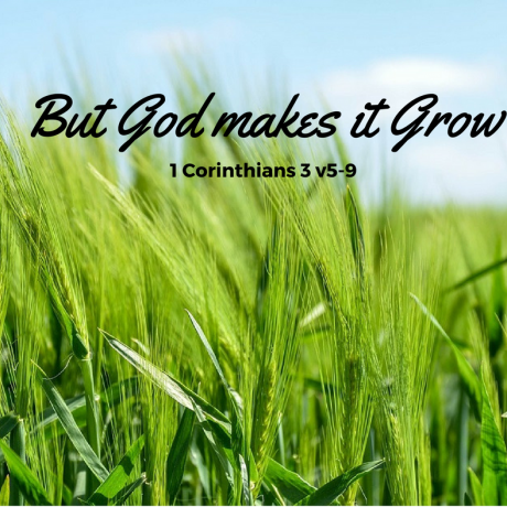 But it is God who makes us grow