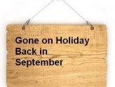 Church cafe now closed for the Summer holidays; Re-opening 9th September