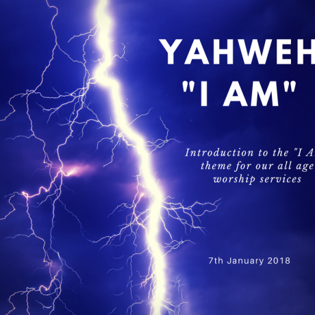"Introduction to the ""I am"" theme"