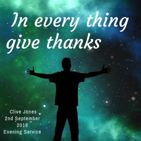 Giving thanks to God in everything (but not necessarily for our circumstances)