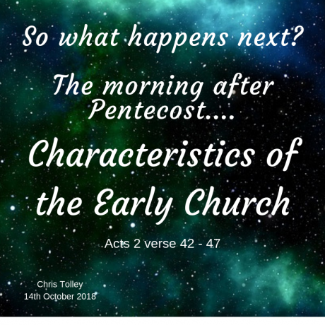 Characteristics of the Early Church