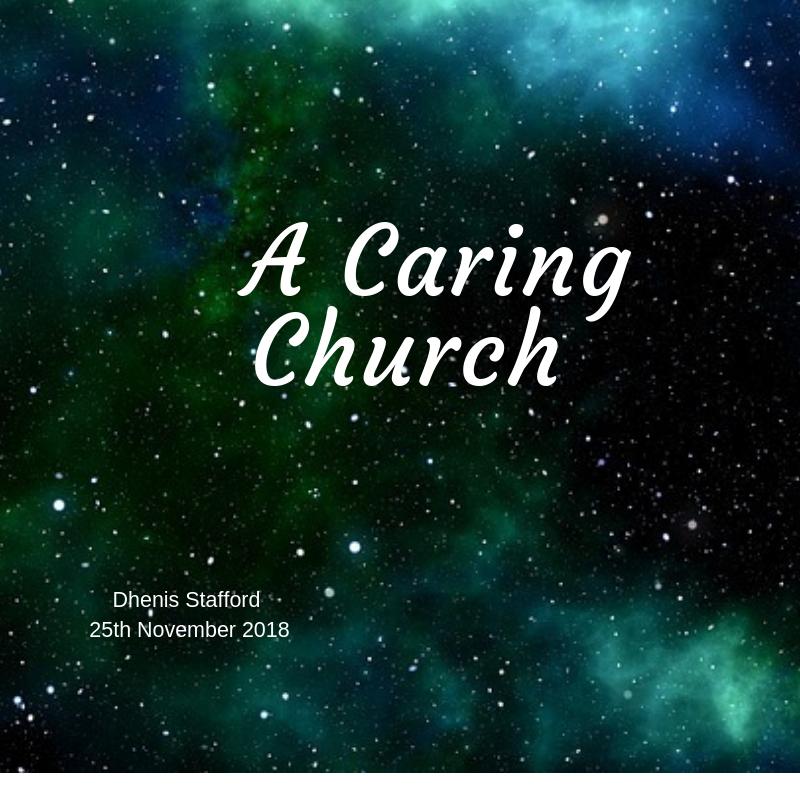 A Caring Church 25th November 2018