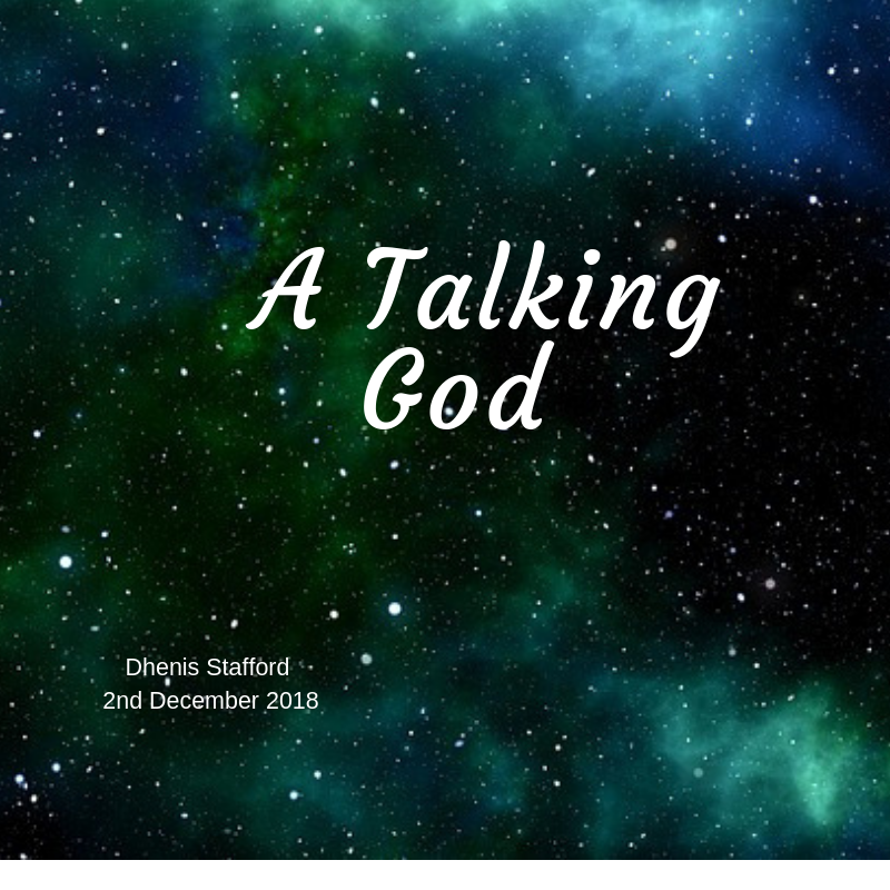 A talking God