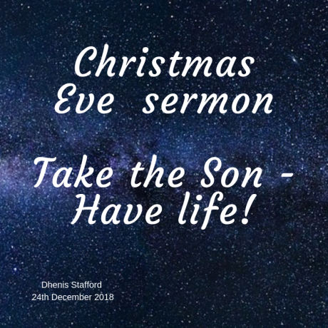 2018 Christmas Eve Sermon