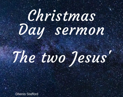 2018 Christmas Day sermon