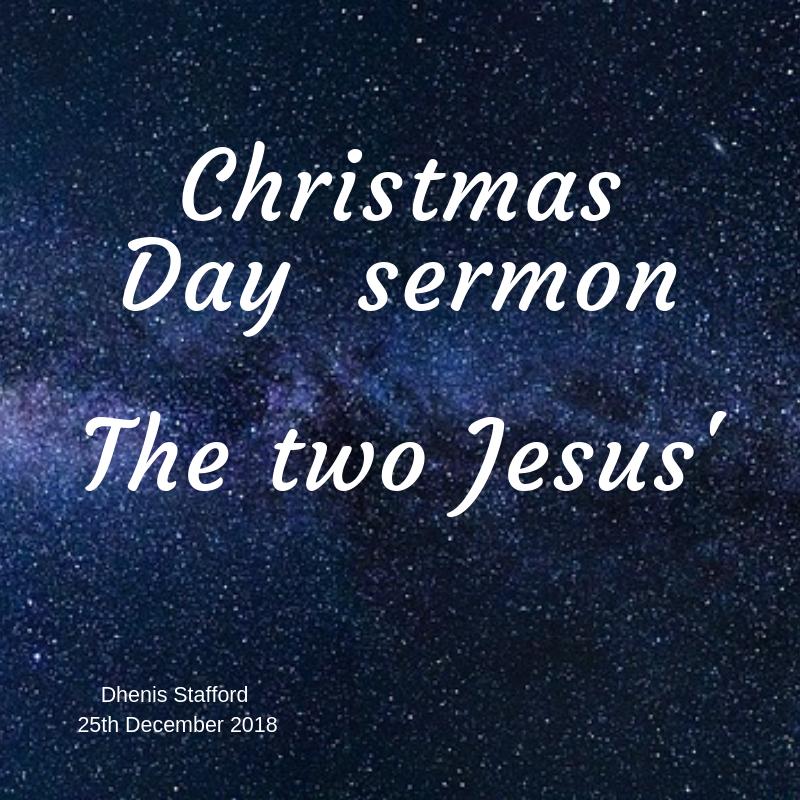 2018 Christmas Day sermon