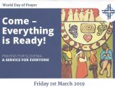 Women's World Day of Prayer: Friday 1st March at 8pm at the United Reformed Church